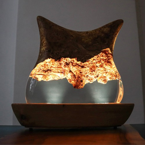Crystals and lamps