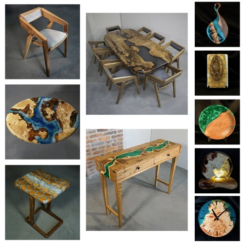 Wood products in stock